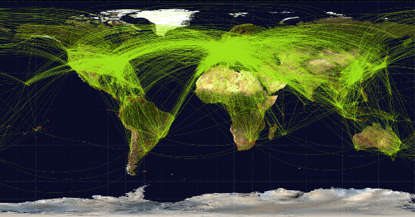 non-stop flights southern hemisphere