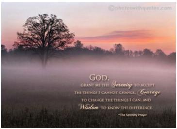 resting in God