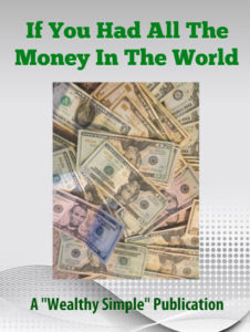 All The Money In The World - green text
